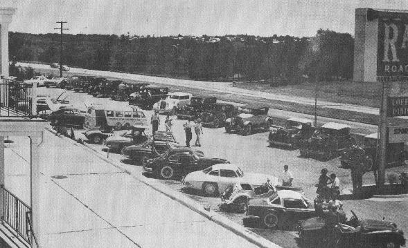 1963 Entries looking down from Persimmon Hill.